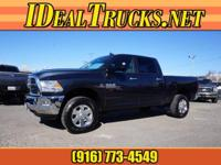 Options:  2014 Ram 2500 Crew Cab 4X4 Big Horn Slt