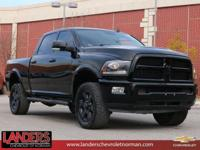 Black Clearcoat 2014 Ram 2500 Laramie 4WD 6-Speed