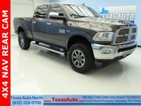 LARAMIE-HEMI-4X4-NAV-REAR CAM-REAR HEATED-BLUETOOTH-U