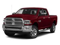 2015 DODGE RAM 2500 LARAMIE 4X4 WITH LUXURY LEATHER 8.4