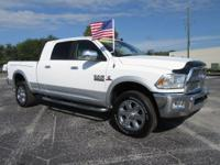 White 2014 Ram 2500 Laramie 4WD 6-Speed Automatic