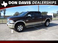 CARFAX One-Owner. Clean CARFAX. Western Brown 2014 Ram