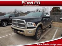 4x4, CLEAN CARFAX, LARAMIE, LOADED, ***1-OWNER***, CALL