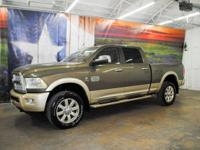 *Rule the roads in this green & gold 2-tone 2014 Ram