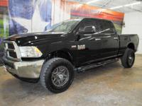 *Purchase this sleek black 2014 Ram 2500 SLT 4x4 Heavy