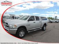 Options:  2014 Ram 2500 Tradesman|Silver|Clean Carfax