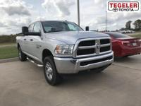 Silver 2014 Ram 2500 Tradesman 4WD 6-Speed Automatic