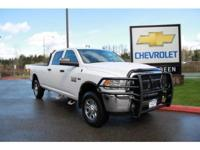Options:  2014 Ram 2500 Tradesman|One Owner; Completely
