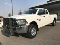 Options:  2014 Ram 2500 Tradesman White 85 753