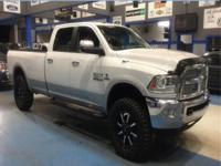 WOW!!! Check out this. 2014 Ram 3500 Laramie White