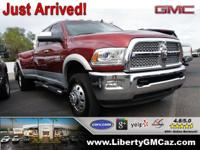 4WD! Red and Ready! This beautiful 2014 Ram 3500 is the