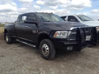 New Price! CARFAX One-Owner. 2014 Ram 3500 Gray Laramie