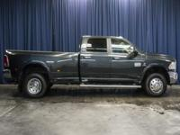 Clean Carfax 4x4 Diesel Dually Truck with Navigation!