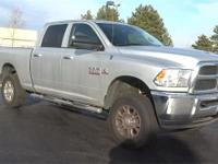 Bright Silver Clearcoat Metallic 2014 Ram 3500 SLT 4WD