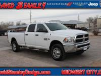 CARFAX One-Owner. White 2014 Ram 3500 Tradesman 4WD