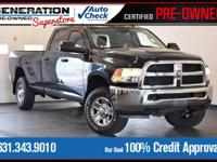 New Price! Blue 2014 Ram 3500 Tradesman 4WD 6-Speed