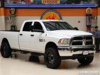 This Carfax 1-Owner 2014 Ram 3500 Tradesman 4x4 is a