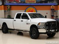 This Carfax 1-Owner 2014 Ram 3500 4x4 Tradesman is a
