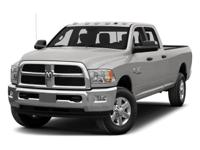 2014 Ram 3500 Tradesman    *Used vehicle one of each. A
