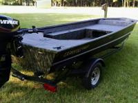 I Recently won this boat in a bass tournament. Included