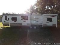 2013 RIVERSIDE TRAVEL TRAILER, 39 KLS Come and