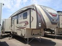 Sabre fifth wheels offer you a luxury product without