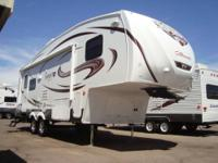 Sabre Silhouette fifth wheels are built with customers