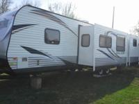 Have 2014 salem bumper pull camper has 3 slides and a