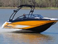 2014 Scarab 195 Impulse edition jet boat. This boat is