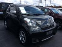 2014 Scion FWD iQ Black Continuously Variable (CVT-F)
