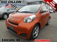 Tried-and-true, this 2014 Scion iQ BASE comfortably