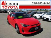 LOW MILES, PANORAMA ROOF!  This 2014 Scion tC Hatchback