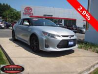 ONE OWNER!! 2014 SCION tC!! 10 SERIES 6-SPEED MANUAL