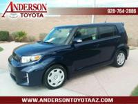Scion Certified. Clean CARFAX. 28/22 Highway/City MPG,
