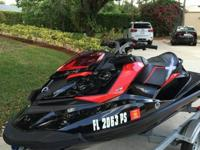 Selling my 2014 Sea Doo Rxp X 260 with 38 hours. Always