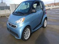 Options:  2014 Smart Fortwo Passion Electric Drive 2Dr