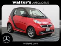 Options:  2014 Smart Fortwo Passion|Rally Red/Design