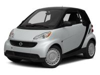 Clean CARFAX. White 2014 smart Fortwo Pure RWD 5 Speed