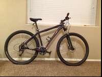 2014 Specialized Hardrock sport disc 29. This bike has