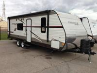 New Starcraft AR-One 26BH Bunkhouse.  Front Queen