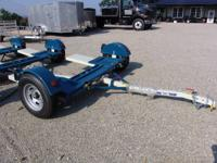 The Stehl Tow Model ST80TD will haul small, medium and
