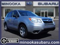 Take command of the road in the 2014 Subaru Forester! A