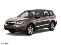 2014 Subaru Forester 2.5i Just Reduced! CARFAX