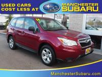 Step into the 2014 Subaru Forester! Feature-packed and