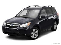 1 OWNER!! This 2014 Subaru Forester 2.5i Limited in