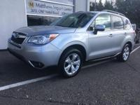 Ice Silver Metallic 2014 Subaru Forester 2.5i Limited
