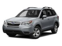 Certified. CARFAX One-Owner. 2014 Subaru Forester 2.5i