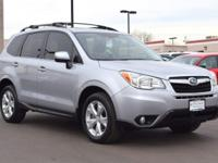 This 2013 Subaru Forester 2.5i Limited comes with Black