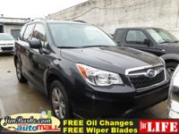 New Arrival! *CarFax One Owner!* This Forester 2.5i