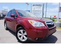 2014 Maroon Subaru Forester 2.5i Limited EXCLUSIVE